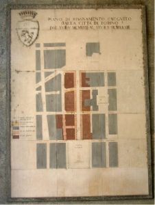 Torino dal quadrato al tutto tondo